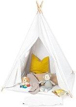 Tipi Aponi Play Tent Pinolino Colour: White