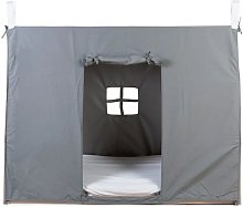 Tipi Bed Cover Symple Stuff Size: 100 cm W x 208