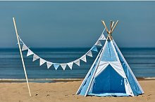 Tipi White Dots Play Tent KraftKids Colour: