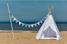 Tipi White Dots Play Tent KraftKids