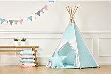 Tipi White Thin Diamonds Play Tent KraftKids