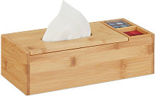 Tissue Box with Lid & 2 Compartments, Bathroom &