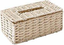 Tissue Boxrattan Tissue Box Retro Napkin Holder