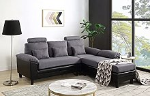 TITA-DONG Convertible Sectional Sofa Couch, Modern