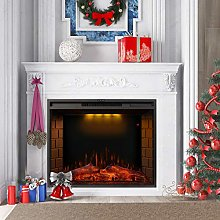 TITA-DONG In Wall Electric Fireplace 30inch 5