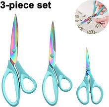 Titanium Scissors Set for Sewing, Arts, Crafts,