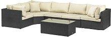 Titcomb 5 Seater Rattan Sofa Set Sol 72 Outdoor
