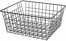 TITST Large Capacity Bathroom Kitchen Wire Basket