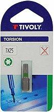 TIVOLY 11520521500 Torsion Screw Bit for Torx