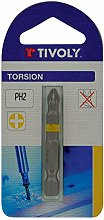 TIVOLY 11520820200 Torsion Screw Bits for Philips