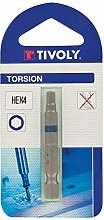 TIVOLY 11520920400 Torsion Screw Bits for Hexa