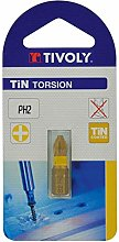 TIVOLY 11522320200 Torsion Screw Bits for Philips