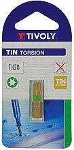TIVOLY 11522521500 Torsion Screw Bits for Torx