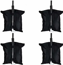 Tixiyu 4PCS Weight Bags Tent Sand Bags Heavy Duty