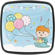 TIZORAX Baby Clipart 3D Printed Crystal Glass
