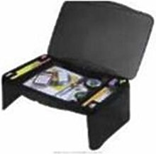 TJC Folding Lap Desk with Storage 44.5x28x6cm -