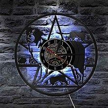 TJIAXU Border collie wall clock border collie