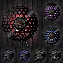 TJIAXU Golf Ball Wall Clock Glof Club Vintage Wall