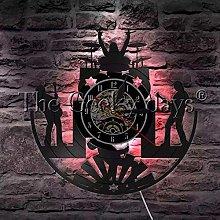 TJIAXU Rock Music Band Wall Light Vinyl Record