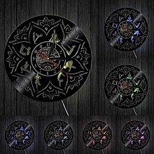 TJIAXU Seed of Life Lotus Wall Hanging Art Zen