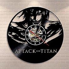 TJIAXU Vinyl record wall clock Classic wall clock