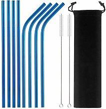 TKG 10 Colors Eco-Friendly Metal Drinking Straw