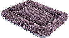 TKMY Pet mattress, fluffy nursing dog bed/box mat
