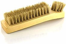 TLBB Shoe Brush with Boar Bristles Polished