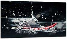 TMK Glass Chopping Board, Hob Cover Plate, 1