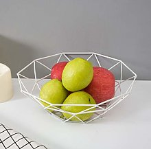 Tnaleve Mental Fruit Bowl  Countertop Wire Fruit
