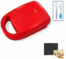 Toasty Sandwich Maker with Removable Plates,