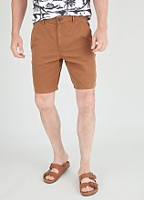 Tobacco Brown Carpenter Shorts - 36