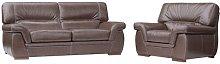 Tobin 2 Piece Sofa Set Ebern Designs Colour: Brown
