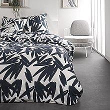 Today Double Bed Linen Set 220 x 240 cm Cotton