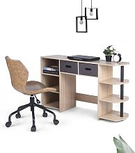Todi Computer Desk Ebern Designs Colour: Oak