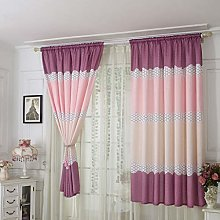 ToDIDAF 1Pc Window Curtain, Modern Washable