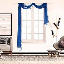 ToDIDAF 1Pcs Window Curtain, Curtain Window Screen