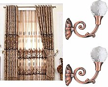 ToDIDAF 2Pcs Curtain Tiebacks, European Style