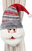 ToDIDAF Christmas Curtain Buckle, Christmas Doll