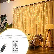 ToDIDAF LED Waterproof Window Curtain Lamp String