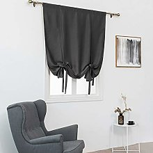 ToDIDAF Thermal Insulated Blackout Curtain - Grey