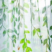 ToDIDAF Window Curtain, Single Piece Wearing Rod