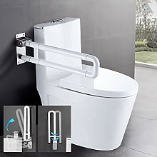Toilet Grab Bar Bathroom Safety Handrail Foldable
