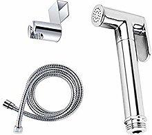 Toilet Hand held Bidet Sprayer kit Brass Chrome