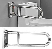 Toilet Handrail, Upward Flip Design Bathroom Grab