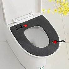 Toilet seat Stretchable Pads Antibacterial Super