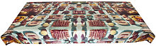 Toiletpaper - Insectes Waxed tablecloth by Seletti