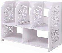 Tokyia Desktop Bookshelf Storage Rack