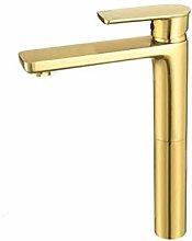 Tokyia Faucet Brushed Gold Desk Mounted Sink Tap
