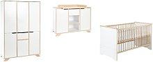 Tokyo 3-Piece Nursery Furniture Set Schardt